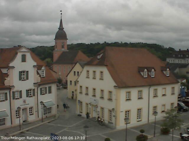 Bild der Webcam vom Rathausplatz